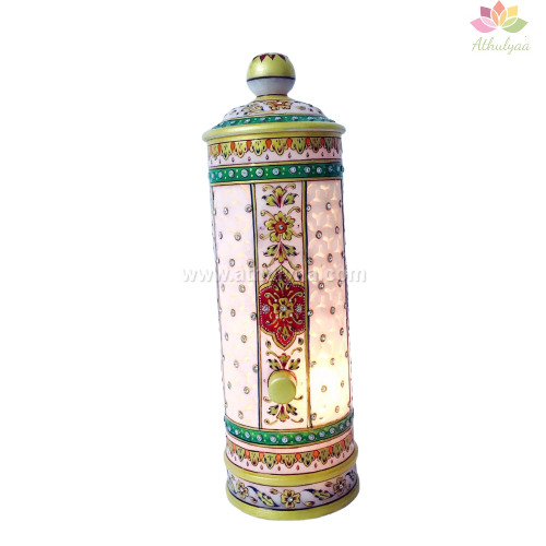 Marble Tower lamp,Marble Pillar lamp,Corporate return gifts