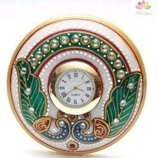 Marble clock,Marble return gifts,Marble Gifts,