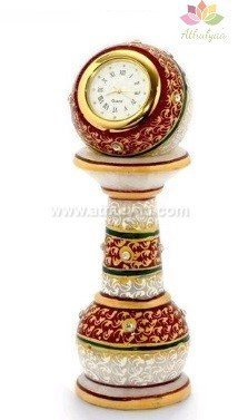 Marble Pillar clock,Marble return gifts, Marble gifts