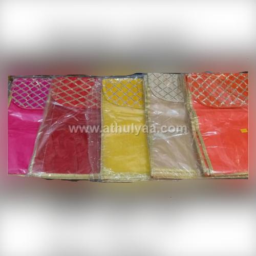 Designer saree cover with gota print