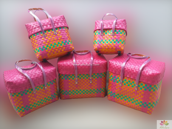 chettinad baskets with lid