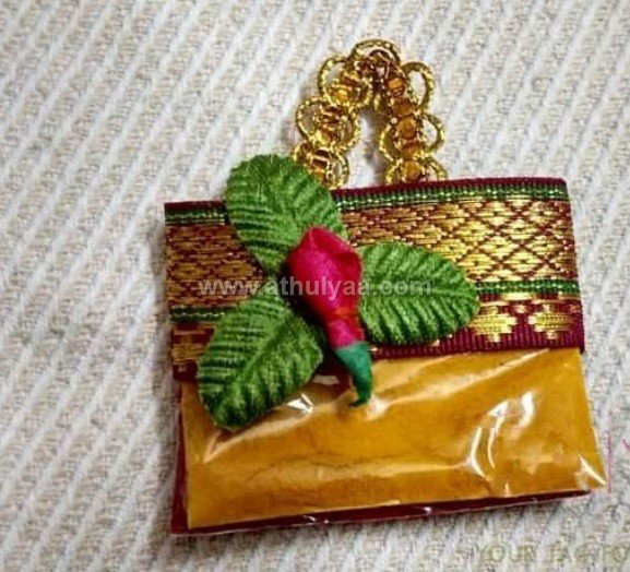 Bag Pasupu kumkum packing