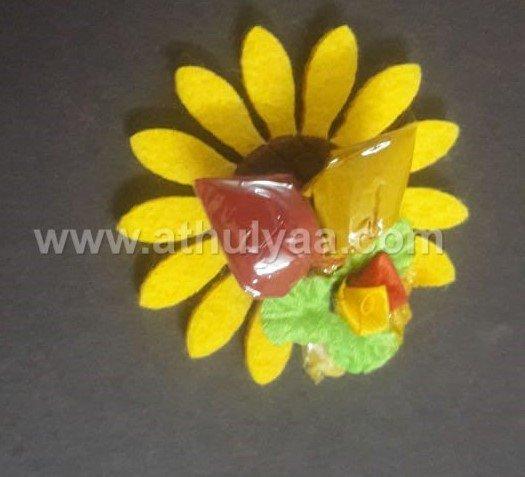 Sun flower pasupu kumkum