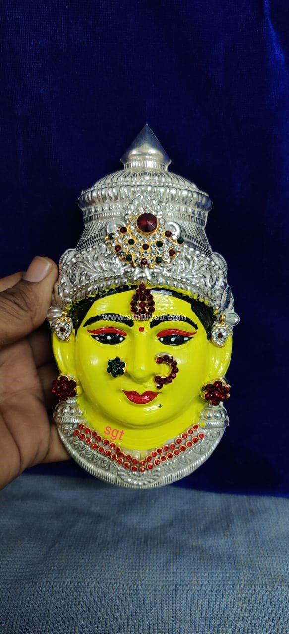 Varalakshmi amman yellow face (2)