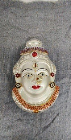Varalakshmi Amman Face-Jewelled