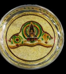 Meenakari Balaji Plate-7 Inches