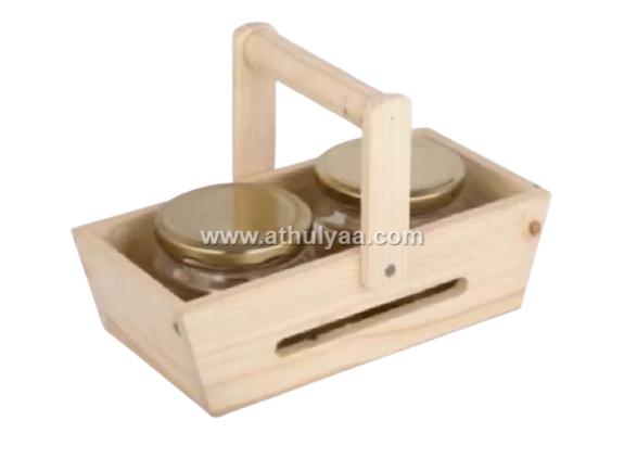 Pinewood-basket dry fruit box